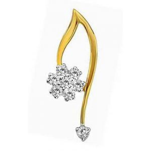 Diamond Cute Flower Charm Diamond Pendant Avp0137