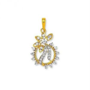 Avsar Real Gold And Diamond Amazing Pendant Avp149