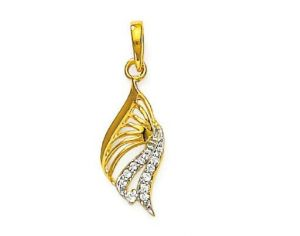 Avsar Real Gold And Diamond Fashion Pendant Avp065