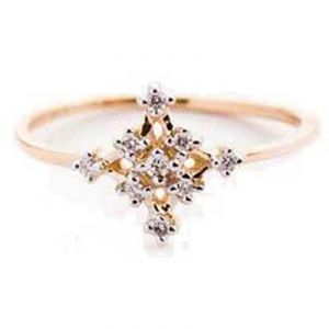 Twinkling Star Diamond Ring Avr126