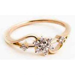 Beautiful Flower Look Diamond Ring Avr127