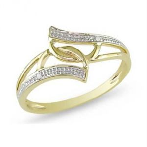Avsar Real Gold And Diamond Pleasing Ring Avr148