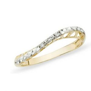 Avsar Real Gold And Diamond Valentine Ring Avr152