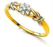 Avsar Real Gold And Diamond Stunning Ring Avr033