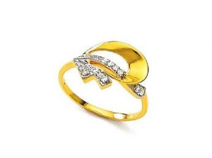 Avsar Real Gold And Diamond Perfect Ring Avr047