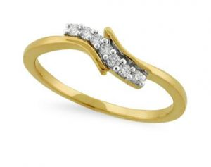 Avsar Real Gold And Diamond Saling Diamond Shape
