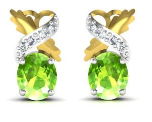 Ivy,Soie,Cloe,Jpearls,Ag Diamond Jewellery - Ag Real Diamond  Amisha  Earring AGGE030Y