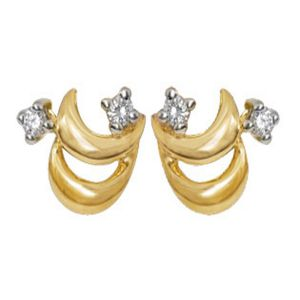 Ag Silver & Real Diamond Suchita Earring ( Code - Agse0009n )