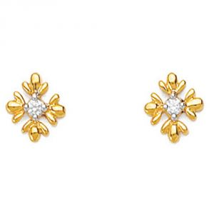 Ag Real Diamond Anjali Earring Agse0023a