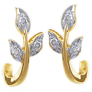 Ag Real Diamond Channai Earring Agse0047a