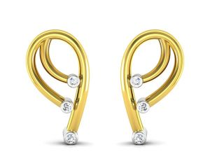 Triveni,Pick Pocket,Platinum,Tng,Sukkhi,Flora,Ag,Port,Jagdamba Diamond Jewellery - Ag Real Diamond  Isha  Earring AGSE0049Y
