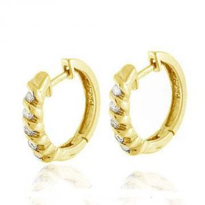 Ag Real Diamond Anjali Earring Agse0056a
