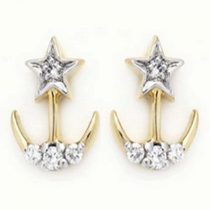 Ag Real Diamond Manjiri Earring Agse0107a