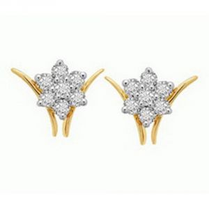 Ag Real Diamond Madhuri Earring Agse0109a