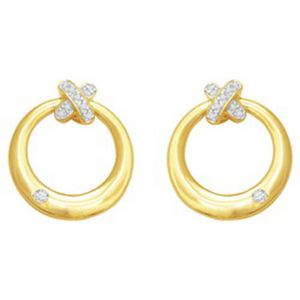 Ag Real Diamond Anjali Earring Agse0117a