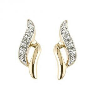 Ag Real Diamond Runali Earring Agse0135a