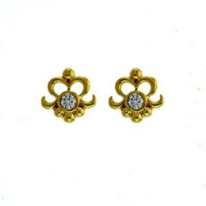 Ag Real Diamond Pooja Earring Agse0143a