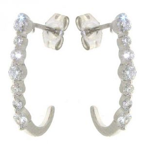 Ag Real Diamond Aruna Earring Agse0152a