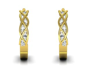 Ag Real Diamond Maya Earring Agse0153y
