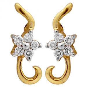 Ag Real Diamond Swati Earring Agse0157a