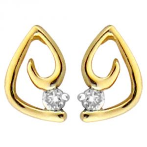 Ag Real Diamond Vaishali Earring Agse0160a