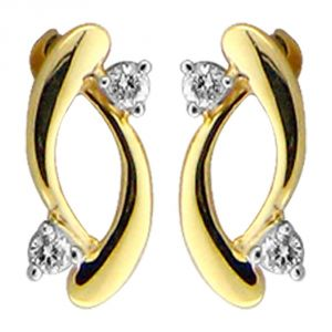 Ag Real Diamond Manisha Earring Agse0161a