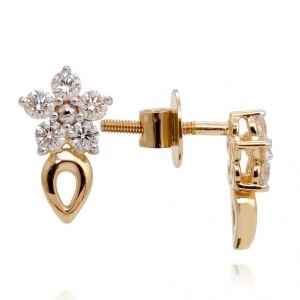 Ag Real Diamond Fashion Earring Agse0185