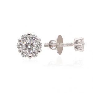 Ag Real Diamond Fashion Earring Agse0186