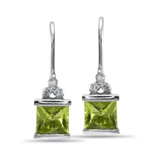 Hoop,Asmi,Tng,Ag,The Jewelbox Women's Clothing - Ag Real Diamond Fashion Earring AGSE0191