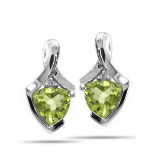 Hoop,Soie,Kalazone,Triveni,Lime,Sinina,Ag Women's Clothing - Ag Real Diamond Fashion Earring AGSE0192