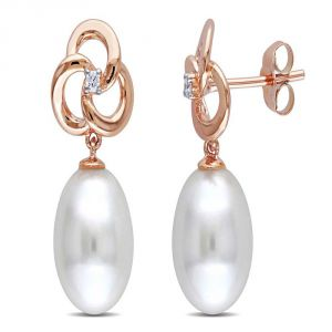 Triveni,La Intimo,Clovia,Bagforever,Ag,My Pac,Oviya Diamond Jewellery - Ag Real Diamond Fashion Earring AGSE0194