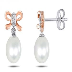 Ag Real Diamond Fashion Earring Agse0196