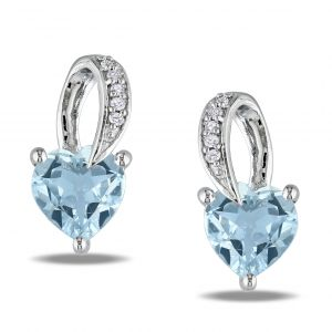 Ag Real Diamond Fashion Earring Agse0211