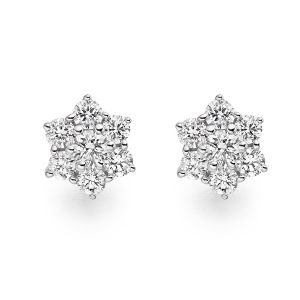Ag Real Diamond Pranali Earring Agse0239