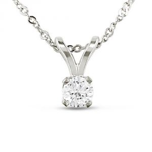 Ag Real Diamond Fashion Pendant Agsp0180