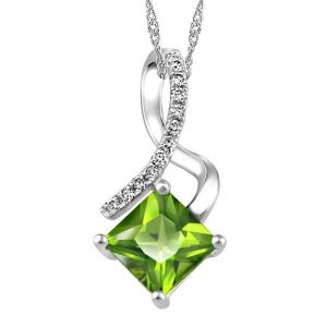 Ag Real Diamond Fashion Pendant Agsp0183