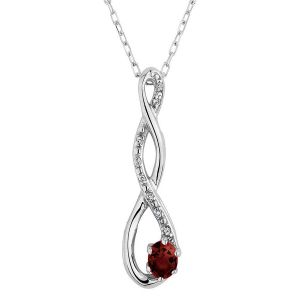 Ag Real Diamond Jyoti Pendant Agsp0191