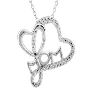 Ag Real Diamond Gaytri Pendant Agsp0200
