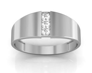 soie,port,ag Silvery Jewellery - Ag Real Diamond Priya Ring  AGSR0017W