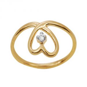Ag Silver & Real Diamond Minal Ring ( Code - Agsr0027n )