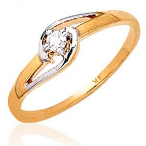 Ag Real Diamond Chennai Ring Agsr0037a