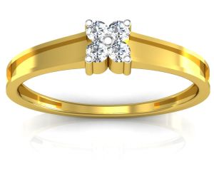 Ag Real Diamond Krutika Ring Agsr0056y