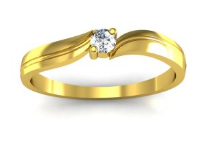 Ag Real Diamond Anjalee Ring Agsr0066y