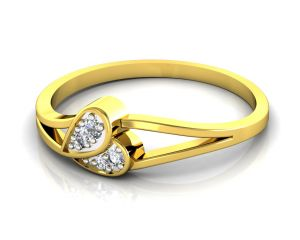 Ag Real Diamond Katrina Ring Agsr0073y