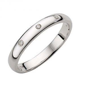 Ag Silver & Real Diamond Asmita Ring ( Code - AGSR0084N )