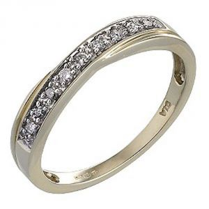 Ag Real Diamond Supriya Ring Agsr0086a