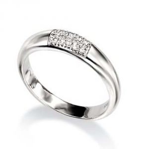 Ag Real Diamond Riya Ring Agsr0105a
