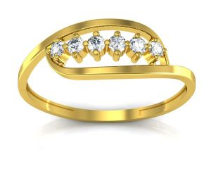 Ag Real Diamond Mumbai Ring Agsr0125y