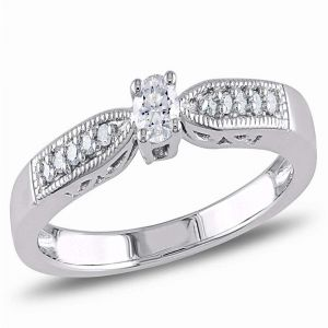 Ag Real Diamond Fashion Ring Agsr0210