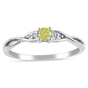 Ag Real Diamond Fashion Ring Agsr0236
